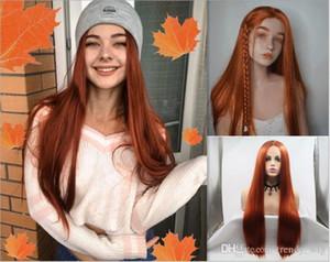 Длинные прямые волосы естественный внешний вид волос glueless lace front wi афроамериканская женщина Полный парик шнурка волос 12-26inch heat-resistan