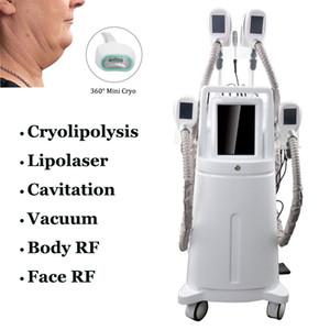 8 IN 1 Cryolipolysis Fett Einfrieren Maschine 5 Griffe Körper schlank Criolipolisis Fettabsaugung Anti Cellulite Cryolipolyse Cryo Ausrüstung