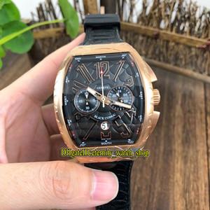 NEW SARATOGE V 45 SC DT COBRA Black Snake шаблон набора Япония VK Кварцевый хронограф Мужские часы из розового золота спортивные часы