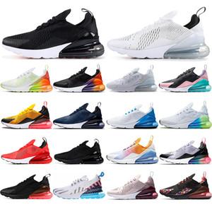 Nike Air Max 270 con calcetines gratis nuevas zapatillas para correr para mujer SE VERDADERO Senderismo Trotar Caminar Al aire libre Zapatos para hombre deportivas Zapatillas para