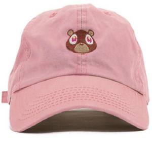 2018 oso papá Kanye West Vosotros precioso del sombrero gorra de béisbol de verano para mujeres de los hombres unisex de los casquillos del Snapback exclusivo desbloqueo