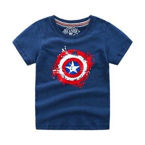 Gododomoyi 2019 الصيف الفتيات الفتيان المنتقمون 4 طن قميص الطفل أطفال بارد 3d t-shirt الأطفال سوبر بطل القمم الطفل ماركة المحملة ل 4-20Y