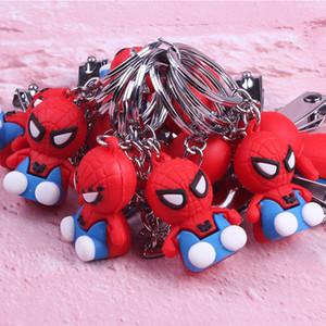 Завод прямой Человек-паук мультфильм брелок мягкий пластик кукла Супермен мобильный телефон сумка кулон подарок поколение