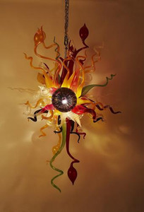Hot Vente de Noël murano Blown Art Glass Chandelier