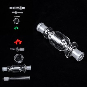 10mm 14mm 18mm Glass Bongs Downstem Water Pipes Down Stem Accessories For Pipe Dab Oil Rig Beaker Bong Glass Hookahs FY2227