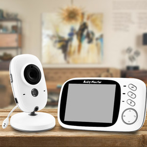 Wireless Video Farbe Baby-Monitor mit 3.2inches LCD 2-Wege-Audio Diskussion Nachtsicht-Überwachung Überwachungskamera Babysitter