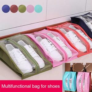 Портативное Путешествие Поставки Организатор обуви для хранения сумки водонепроницаемой пылезащитной висячих Сохранить гардероб стойку Вешалки J2Y