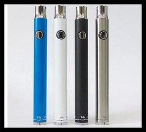 Ön Isıtma Alt Büküm Değişken Gerilim 380 mAh Ön-ısıtma VV Pil Alt 510 Vartridge vape Kalem için Dial tomurcuk kalem mini e çiğ