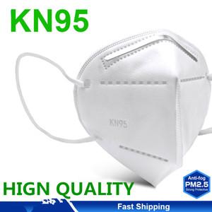Новая бесплатная доставка Одноразовые KN95 маска Рот Caps Ткань Маски KN95 маска для лица Одноразовые лица Рот Маски с фильтром Маски Хлопок