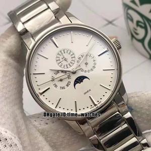 12 estilos nuevos relojes deportivos relojes baratos 43175 / 000P-B190 de lujo Patrimonio automática del reloj para hombre 316 Caja de acero / mano de alta calidad fases de la luna