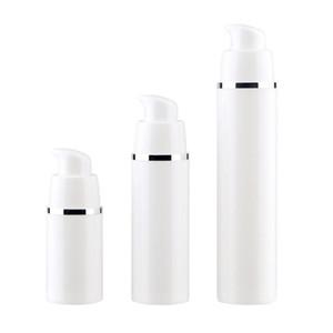 15 30 Bottiglie Vuote 50ML bianchi airless pompa di vuoto Viaggi pompa della lozione Contenitori airless Dispenser sapone ricaricabile Cosmetic LX9234 bottiglia