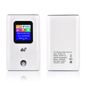 La banda ancha 4G Wifi Router Car Hotspot móvil inalámbrico de bolsillo MiFi Desbloquear Lte módem inalámbrico WiFi Extender Mini Router