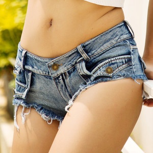 Heiße verkaufende Frauen-Art-Jeans Shorts Hot Pants Low-taillierte Shorts Damenkleidung Bestseller