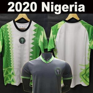 Новая Нигерия 2020 футбола Джерси Home Away МОИСЕЙ Okocha AHMED Майо-де-футовый 20 21 Нигерии комплекты MUSA Микель Iheanacho Футбол рубашки