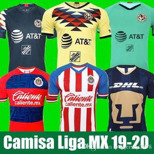 LIGA MX 2019 Клуб Америка футбол Джерси 2020 Клуб де Cuervos дом вдали третий НАУ Гвадалахара Чивас комплект Джерси 19 20 майки