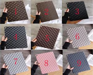 Designer Luxus Ipad Fall für Ipad mini 1 2 3 Vintage-Grid-Kasten PU-Leder-Tablet-Abdeckung für Ipad Air 10,5 Zoll Pro 12,9 Zoll Cover-Rückseite