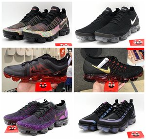 2019 new Vapors Maxes 2.0 Running Shoes Fk Women Mens 1.0 Knit Black White Max 3.0 Outdoor Sports Sneakers