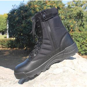رجال الصحراء عسكرية للجيش التكتيكية أحذية المشي لمسافات طويلة في الهواء الطلق ذكر للماء أحذية في الهواء الطلق التكتيكية أحذية جلدية