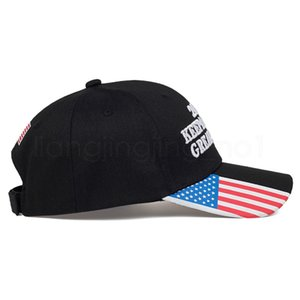 Donald trumps baseball cap USA flag 2020 keep America great again letter embroidered outdoor adult sunhat party favor FFA4077-6
