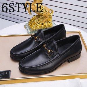 19FS Prom Shoes Men Classic Coiffeur Formal Shoes Men Elegant luxurious Brans Men Party Shoes Chaussure Homme Sepatu Slip On Pria Bona 38-45