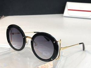 사례 939S와 939 선글라스 여성 디자이너 패션 라운드 프레임 여름 스타일 혼합 색상 프레임 인기 최고 품질 UV 차단 렌즈 가자