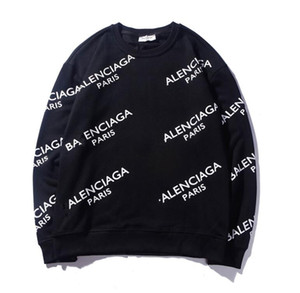 Die neuesten hochwertigen Herren Damenbekleidung Sweatshirt Seiko Stickerei Baumwolle Sportswear Jersey Fashion Pullover Exquisite Mantel frei