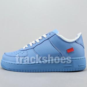 Novo 1 Mca University Mens Azul Sapatos de Basquete de Alta Qualidade Desenhador de Moda Parra Duck Branco SB Sapatilhas Das Mulheres 1 s Tênis Em Execução Sapatos