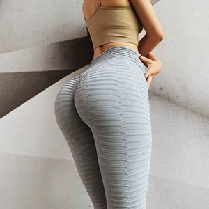 Push Up Women Sexy Gym High Waist Sports Pants Workout Running Leggins Fitness Mujer Yoga Leggings Y200529