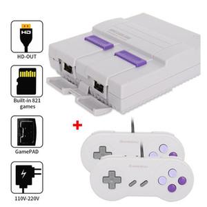 HDMI Out TV 821 Game Console de vídeo portáteis Jogos para jogos SFC NES consola venda quente a família das crianças Gaming Machineree