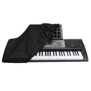 Black 76-88 Keys Protective Dustproof Cover for Electronic Keyboard and Digital Piano