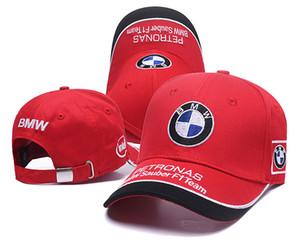 Nova moda snapback bmw chapéu snap back hat chapéu de basquete barato gorras f1 osso ajustável homens mulheres boné de beisebol