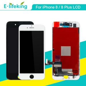 Lcd ekran iphone 8 8 plus için dokunmatik ekran digitizer meclisi parçaları lcd değiştirme için iphone 8 8 p siyah beyaz renk
