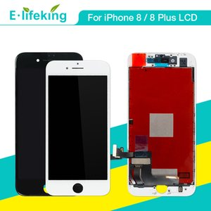 Display LCD per iPhone 8 8 Plus Touch Screen Digitizer Parti di ricambio LCD per iPhone 8 8P Colore bianco nero