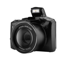 2020 Stil 24MP 720 P HD Camera Digitale Vlogging Recorder-Videogerät 20X Zoom + 3.5 pollici IPS-Display + Flash Light