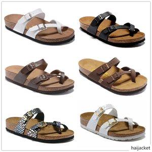 Mayari Arizona Gizeh summer Men Women flats sandals Cork slippers unisex casual shoes print mixed colors size 34-46
