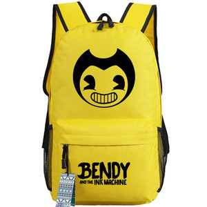 Bendy backpack and the Ink Machine daypack Good game schoolbag Hot sale rucksack Sport school bag Outdoor day pack