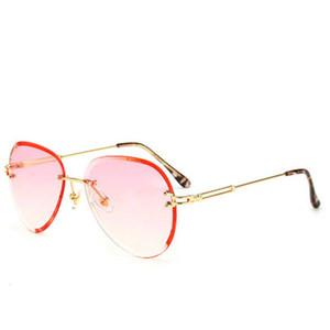 Красочные градиентные солнцезащитные очки rand негабаритные для мужчин красочные градиентные линзы солнцезащитные очки большая рамка солнцезащитные очки Женщины металлическая рамка