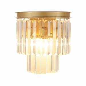 Modern Kristal Duvar Aplikleri Yukarı ve Aşağı Duvar Işıklar Vintage Loft Stil Duvar Lambası Başucu Ana Yatak Aksesuarları Merdiven Lightin