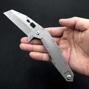 S-10 Qualité 2020 Couteau pliant haute DELAVAGE D2 Lame en acier poignée de survie Camping Autodéfense Couteau de poche Edc outil Livraison gratuite