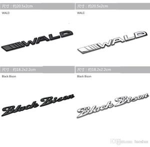 Applicabile a adesivi per auto Mercedes Wald nero marchio denominativo bisonti coda dell'automobile limite Modificato auto Bison logo