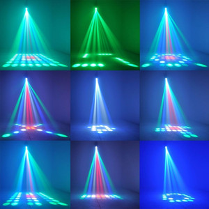 Amazing Auto Sound Active 64 LEDs RGBW Light Disco light Club Party Show Hundreds of Patterns Dj Bar Wedding Stage Party Lights