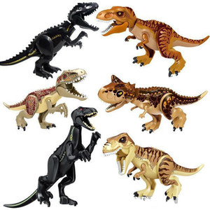 Jurassic Dinosaurier Tyrannosaurus Rex Filmsets Modelle Bausteine Bricks Jurassic Toys World Of Park Figuren