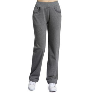 XXXL Plus Size Casual Straight Long Pants Women High Waist Sweatpants Women Pantalon Femme Loose Cotton Trousers C6422