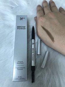 Uzun Doğal Mat Su geçirmez Brow Güç Evrensel Kaş Kalemi Kozmetik 0.16g süren Göz Makyajı Dropshipping
