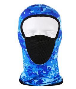 DHL Balaclava Face Mask UV Protection for Men Women Outdoor sports gear motorcycle ml speed dry head cap full face Ski Sun Hood 24*42cm