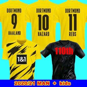 HAALAND REUS Borussia 20 21 maillots de football 2020 dortmund 2021 Maillot de football 110e SANCHO REUS HUMMELS hommes BRANDT + enfants Kit DE FOOT MAILLOT