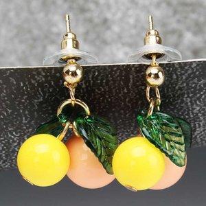 Fêmea bonito Joker Fruit Eardrop Meninas Moda Mulher Brincos Fine Jewelry Acessórios Brincos Dangle Earring na moda liga metálica