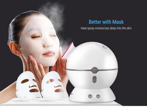 K_SKIN Limpiador Profundo Portátil A base de hierbas vaporizador Spray Mini Mesa Vaporizador Facial con Ozono Cuidado de la Piel Spa Salón Hidratante Facial vaporizador BB