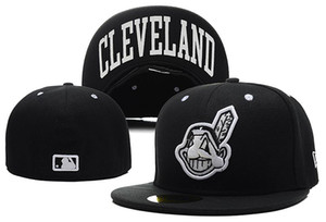 I più venduti Online Shopping Cleveland Indianses Cappelli aderenti Snapback Cap Uomo Donna Basket Hip Pop