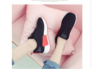 2020 Spring and Autumn with New style fashion flat bottom round head Women's shoes @MQWBH390